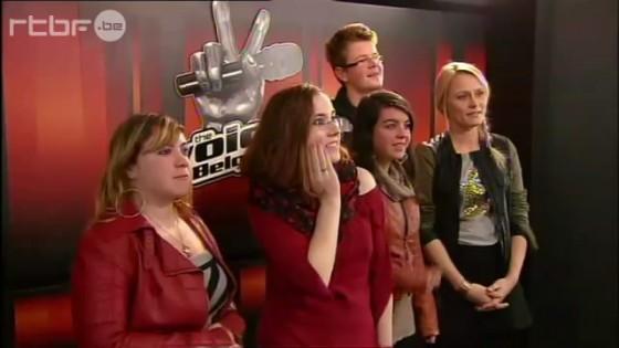 The Voice Belgique - Océane et Laetitia