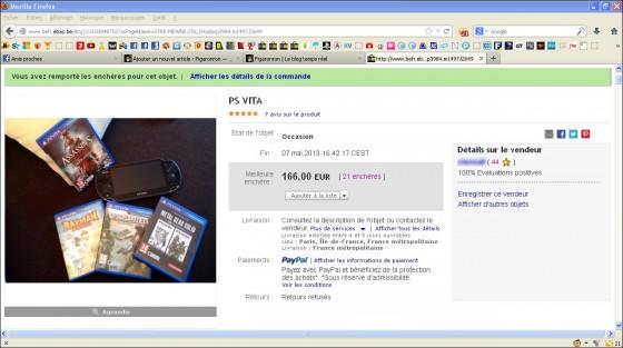 PS Vita Ebay