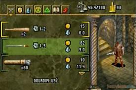 Baldur's gate - Dark alliance - Armes
