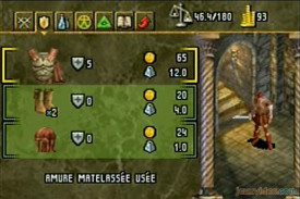 Baldur's gate - Dark alliance - Armure