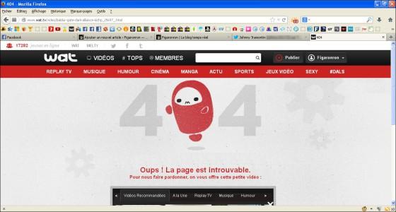 Wat - Erreur 404 (18-11-2013)