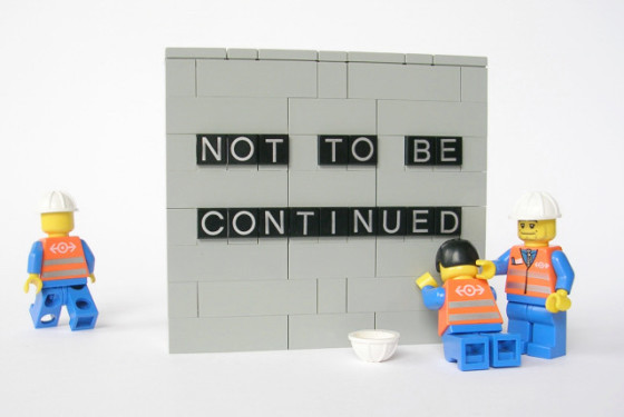Not to be continued
