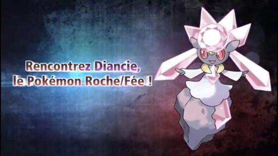 Pokémon X et Y - Diancie 01