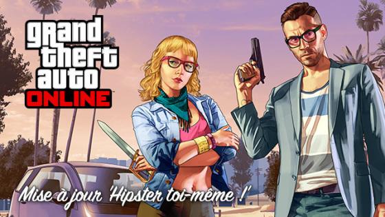 GTA Online - Hipster toi-même