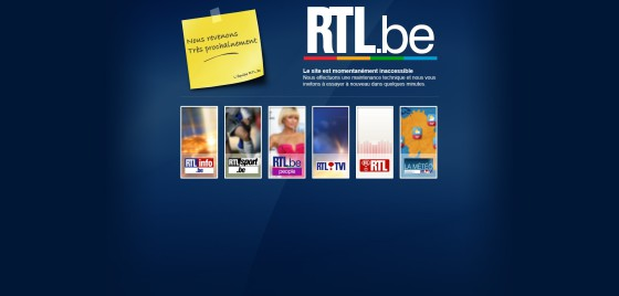 Maintenance - RTL.be (19-09-2014)