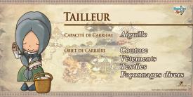 Fantasy Life - Tailleur